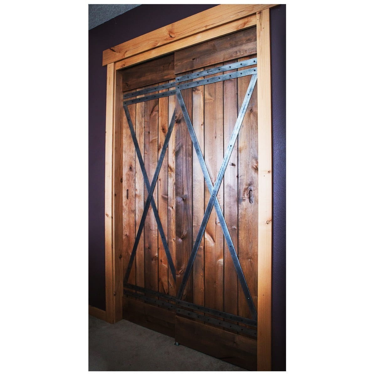 Portland barn door Vedar